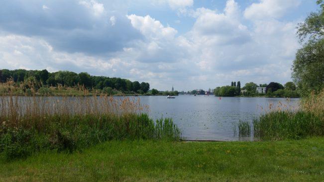 Potsdam von der Glienicker Brücke