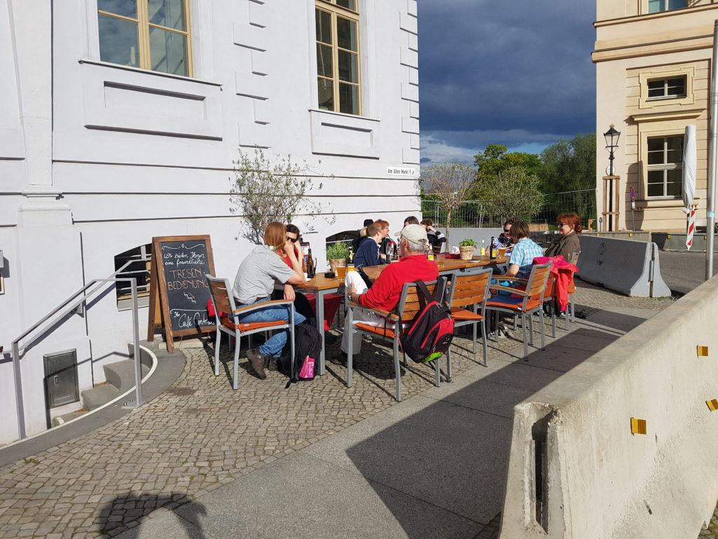 Cafe Central am Potsdam Museum